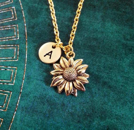 Sunflower Necklace Sunflower Jewelry Personalized Jewelry Etsy See more ideas about cute jewelry, necklace, jewelery. sunflower necklace sunflower jewelry personalized jewelry flower girl necklace sunflower charm necklace flower necklace bridesmaid necklace