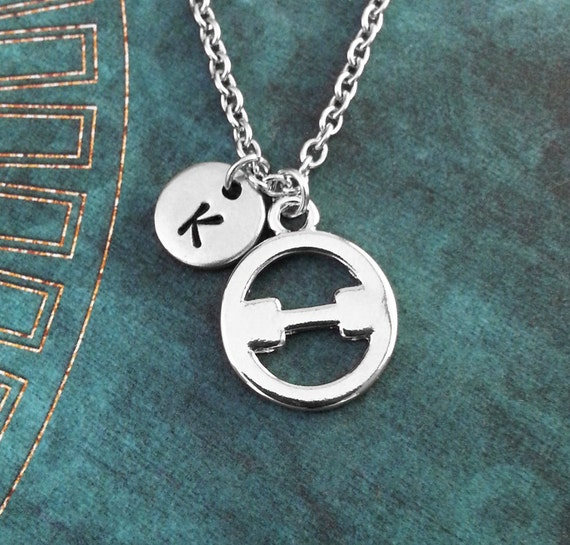 Theta Necklace Small Greek Letter Necklace Greek Alphabet Etsy