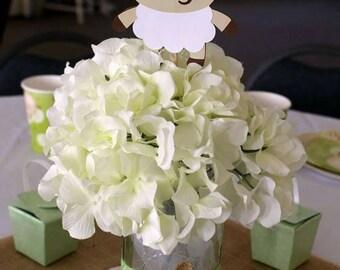 Lamb Baby Shower Decorations - Sheep Baby Shower - Lamb Party - Lamb Decorations - Set of 5