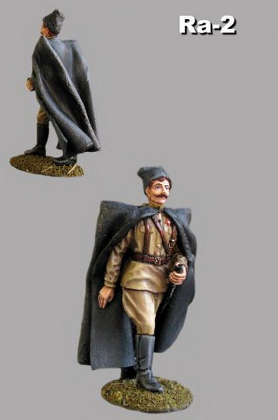 Figure Army Toy Civil War 1//32 Red Army Chapaev Toy Tin Soldier 54mm