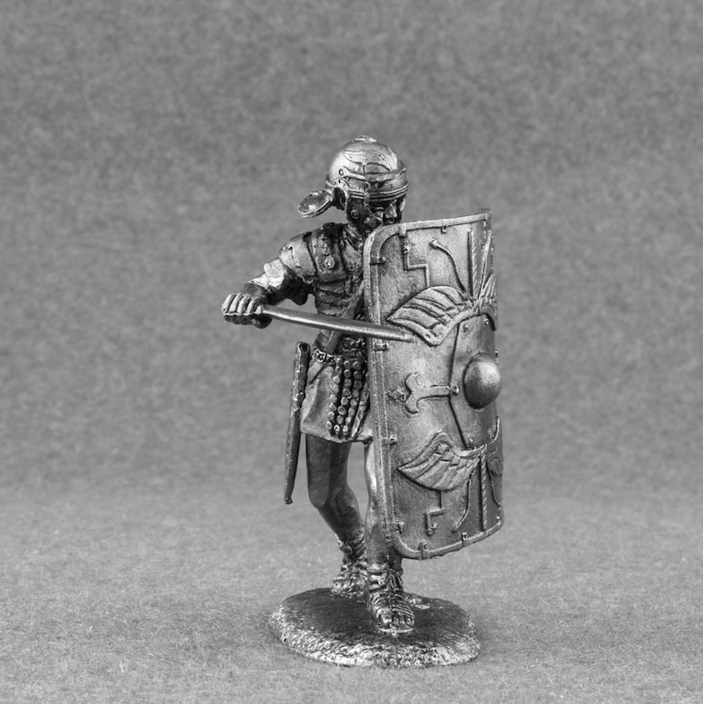 Legionario Era Del CaesarEtsy Miniatura Romano Soldati Di Julius AR5j4L3q