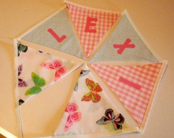 a66f27bde Butterfly bunting