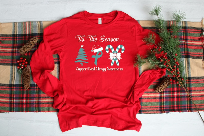 Tis The Season to Support Food Allergy Awareness Red