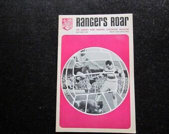 6cd4e599c 1967 Queens Park Rangers FC QPR Rangers Roar Football Soccer Handbook