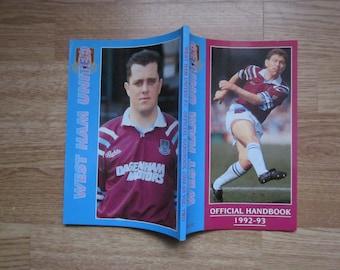Birthday Present Yearbook Annual Memorabilia 1991-92 Leeds United Football Club Handbook Ideal Christmas Gift Fathers Day Souvenir