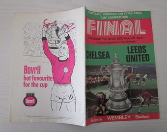 Birthday Present Fathers Day Ideal Christmas Gift 1970 World Cup Final Championship Tournament FootballSoccer Souvenir Programme