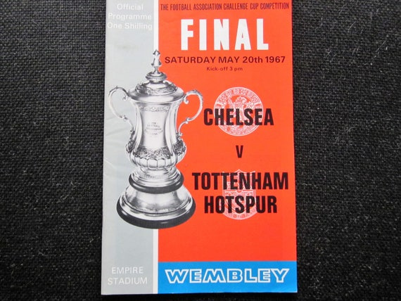 Birthday Present 1959-60 Tottenham Hotspur v Leicester City Football League Div One Match Programme Ideal Christmas Gift Fathers Day