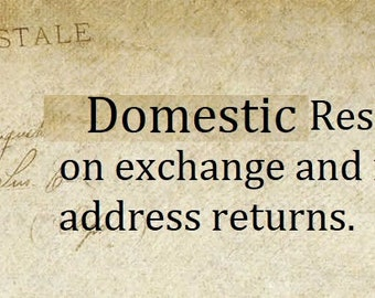161fce43d021 Domestic Shipping Reshipping Cost on exchange and insufficient address  returns