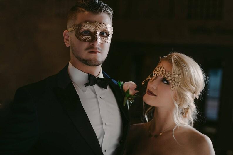 15b7d8ca489 Mens masquerade Mask Men masquerade masks gold Mens wedding
