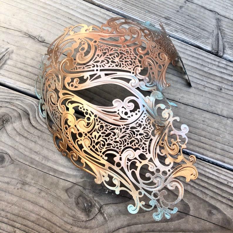 Steampunk Plague skull apocalyptic Mask rave  cosplay mask image 0