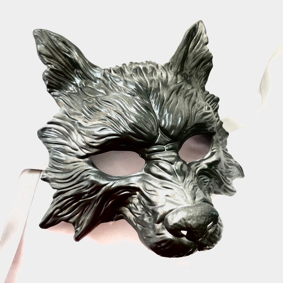 Wolf Animal Masquerade Mask Copper Black Ball Mask Men/'s Masquerade Mask