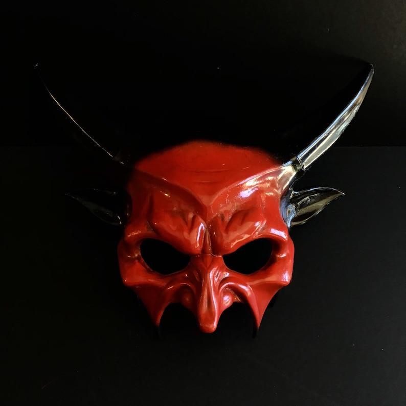 Halloween Devil creature Mask Mens minotaur Mask mens image 0