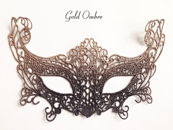 Black Mens Unisex Filigree Light Metal Mardi Gras Venetian Masquerade Mask