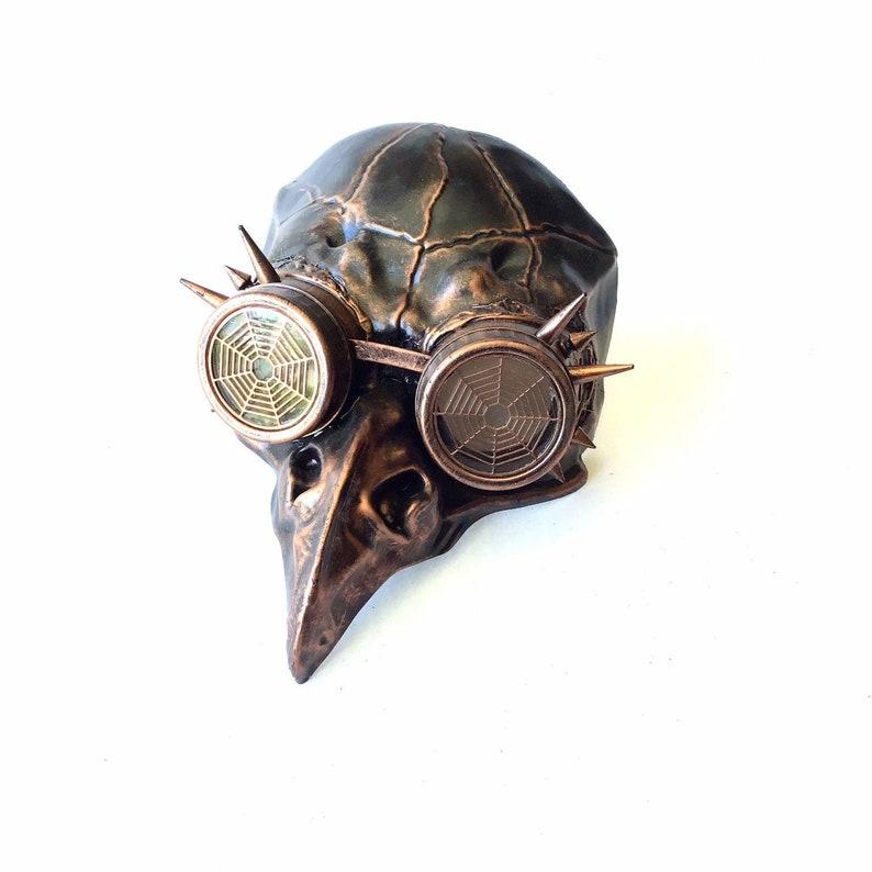 Plague doctor bird mask Jackdaw Steampunk Mask Plague Doctor image 0