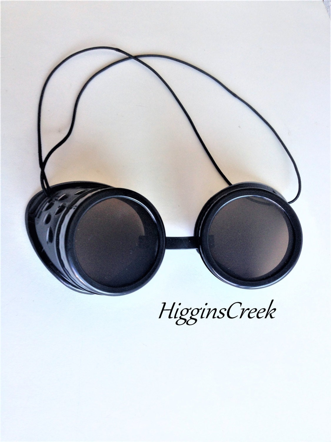2 colors Adult size Steampunk Flip Up Aviator Goggles with Spikes