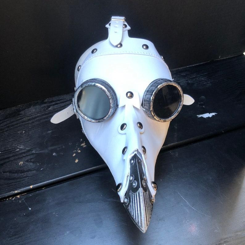 Plague Doctor Bird Mask Long Nose Raven Mask Steampunk Costume image 0