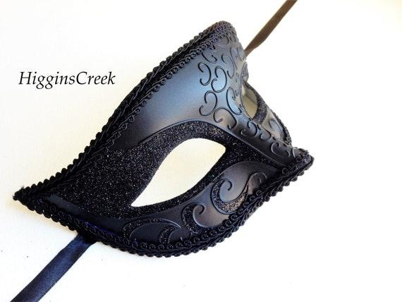 Einfache Venezianische Maske Männer Herren L Für Maskerade Masken Schwarze rdxEoeCBQW