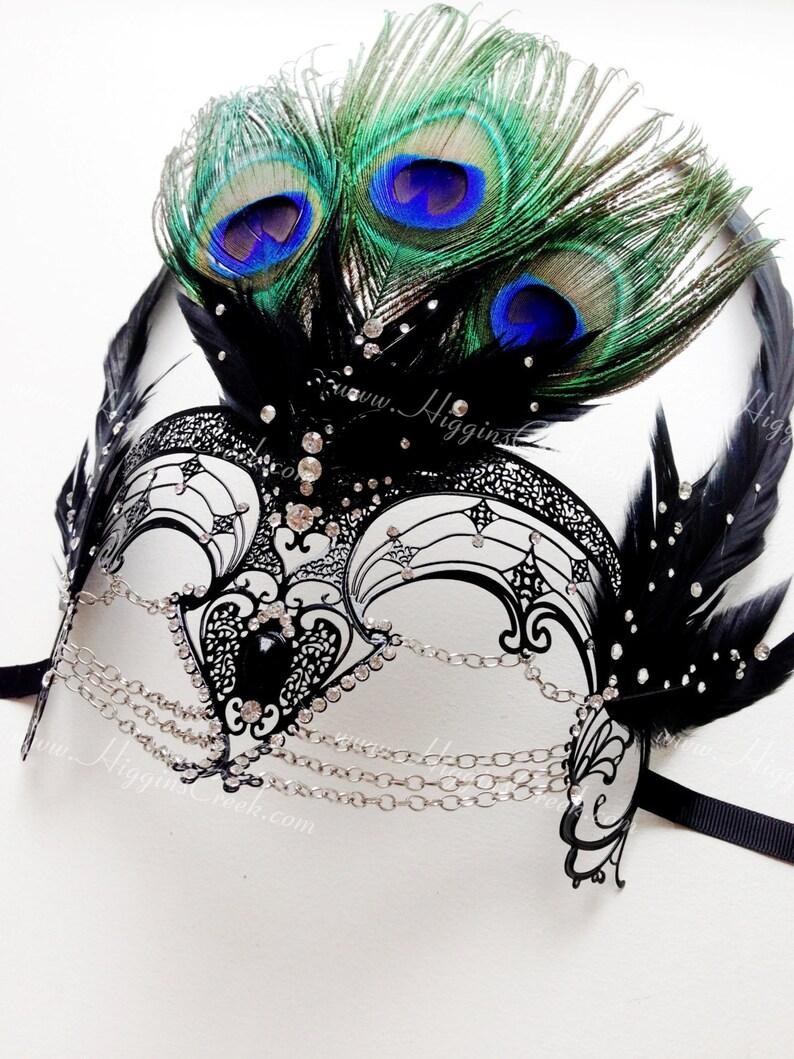 Mardi Gras Gold Lace Masquerade Mask Costume Prom Valentines school graduation