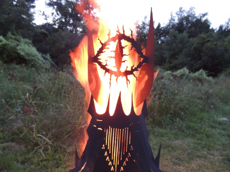 Fire Pit Eye Tower
