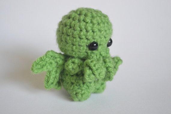 Pattern Cthulhu Crochet Pattern Cthulhu Plushie Crochet Etsy