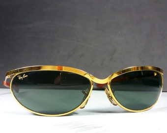 b155812be2 Ray Ban B L W1979 Vintage Olympian Deluxe Bausch and Lomb Sunglasses w Case