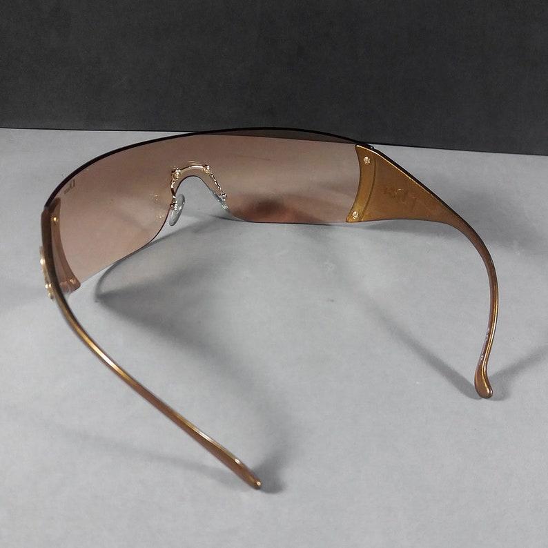 a8edab497ab Christian Dior Gold Ski 6 Frameless Sunglasses VA3 120
