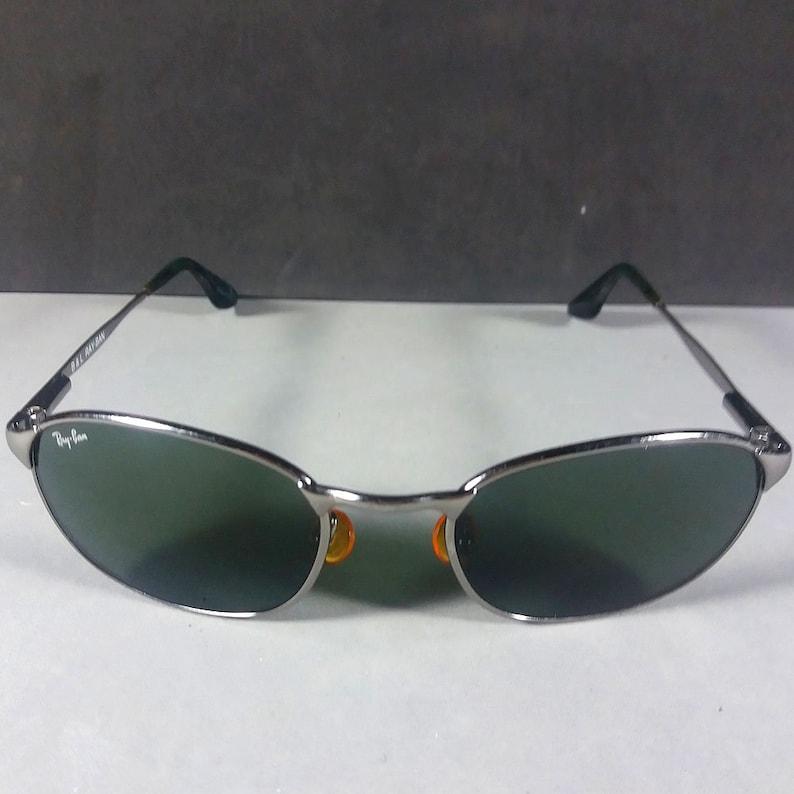 579dce425c Ray Ban B L W2841 Silver Frame Green Lenses Sidestreet