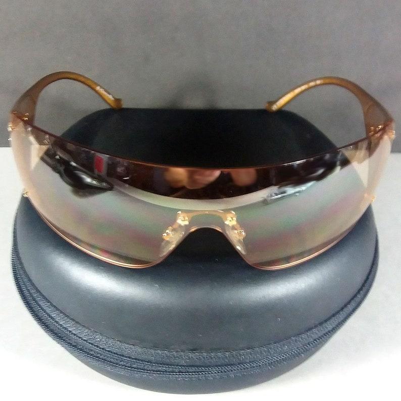 35dbae85df Christian Dior Gold Ski 6 Frameless Sunglasses VA3 120