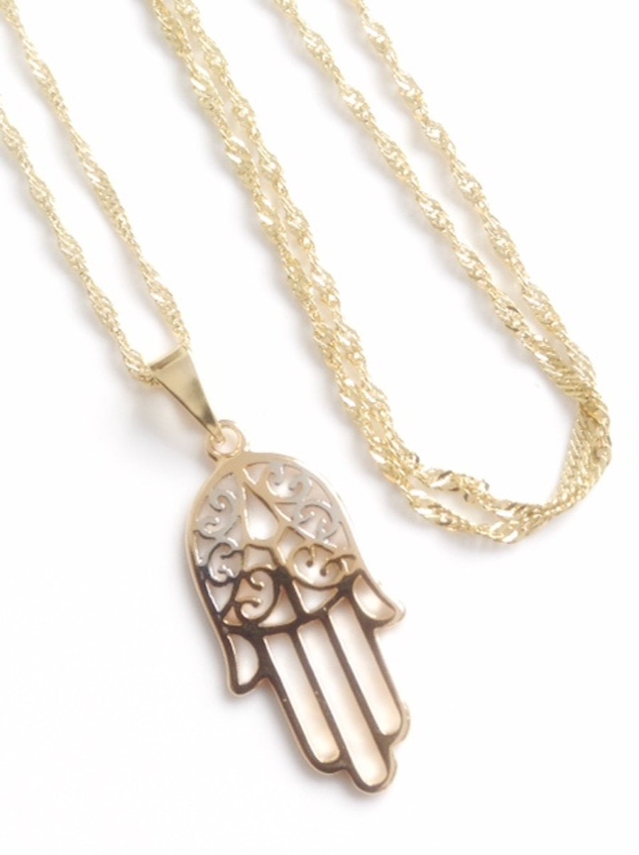 enorme sconto f45ee 8cf08 Fashion Jewelry 1 Ciondolo Per Collane Mano Di Fatima O Per ...
