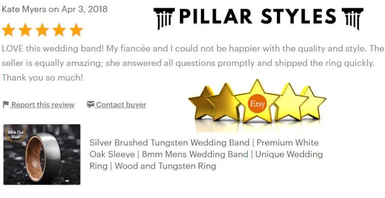 Tungsten Wedding Band Men - Thin Green Line Ring Mens Wedding Band - Green  Tungsten Ring - Unique Wedding Ring - Mens Ring - Military Ring