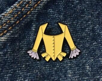Peggy Schuyler Hamilton Musical Enamel Pin