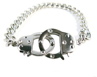 Handcuff Chain Rocker Bracelet
