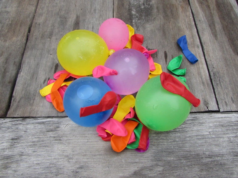 4802d3e9086 100 3 Inch Balloons For Decorating Hair Clips or Flip Flops.