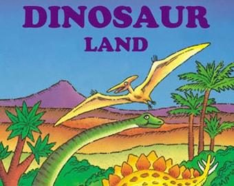 Dinosaur Land Personalized Kids Books