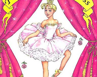 The Ballerina Princess Personalized Books for Kids