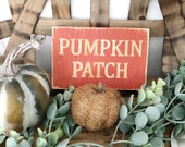 Pumpkin Patch Fall Wood E...