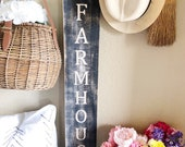 Farmhouse Wood Engraved S...