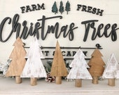 Wood Christmas Trees...