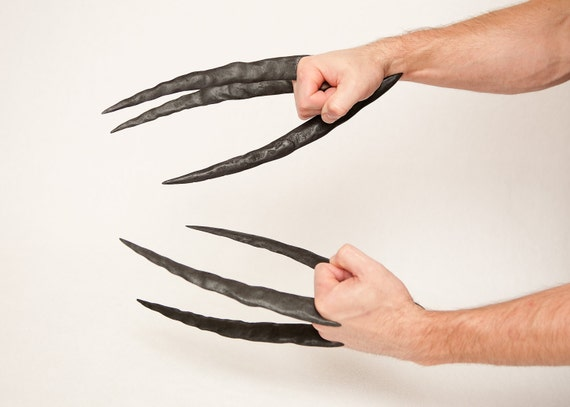 Daken dark wolverine claws hand sculpted and distressed etsy image 0 maxwellsz
