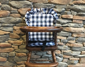 High Chair Cushion Etsy