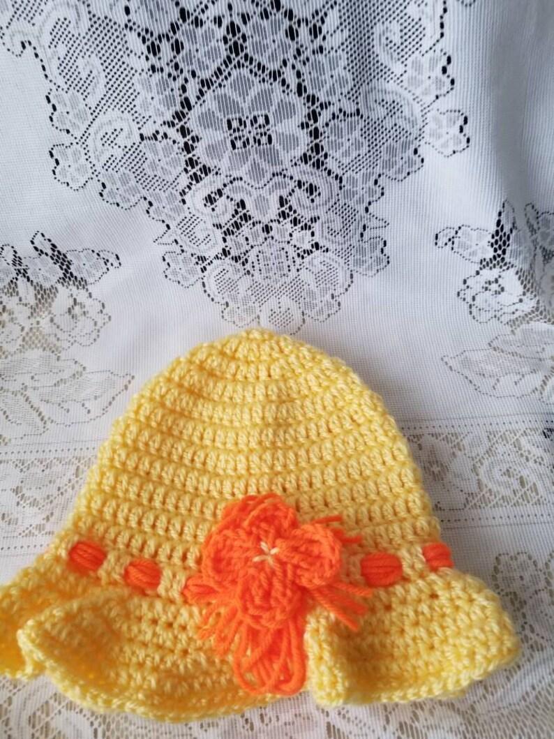 c8706af1f907d Crochet Floppy Hat Sun Hats Yellow Floppy Sun Hat Toddler