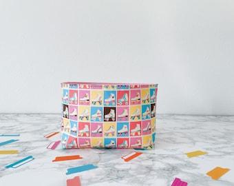 Roller Skate Home Decor. Gift Basket for Birthday Under 20. Travelers Notebook Storage. Sticker Organization Bin. Springtime Home Decor.