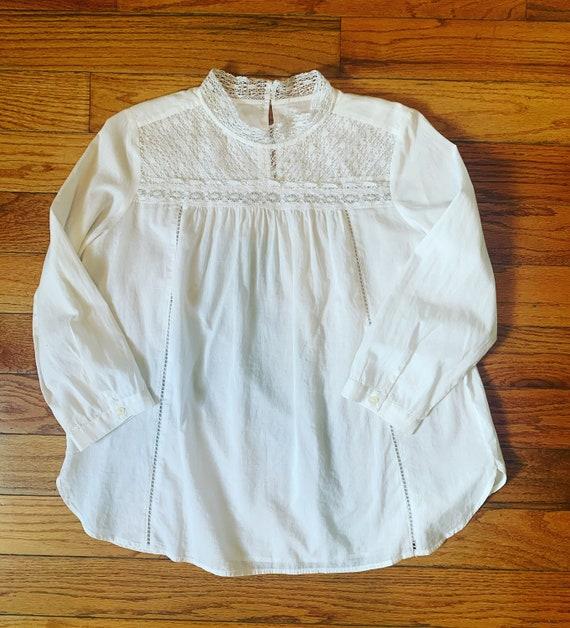 Cotton Peasant Top