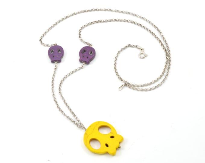 Candy Skull pendant