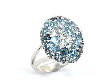 Bella Blue ring