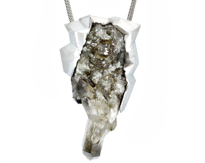 On hold for New York fashion week, Shear Smoke pendant