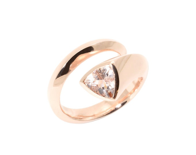 Rose Trilliant ring