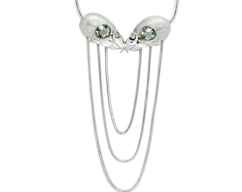Phoenix Cascade necklace