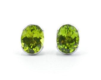 Harvest Green earrings