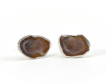 Chrysalis Bronze earrings